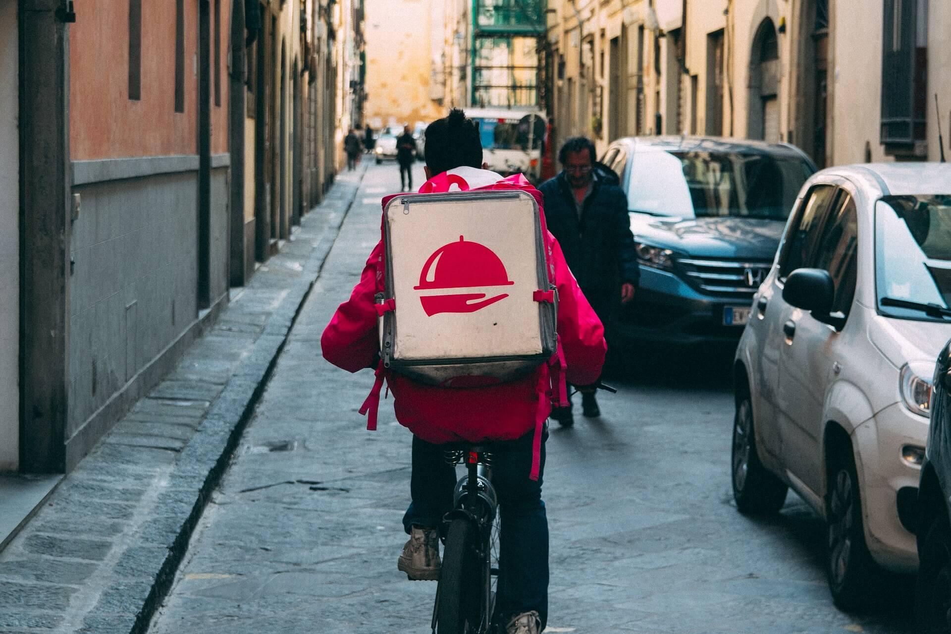 Il food delivery alla conquista dell'Italia